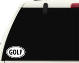 Golf Sticker Decal - Golf Fan or Player Sports Bumper Sticker - The FinderThings