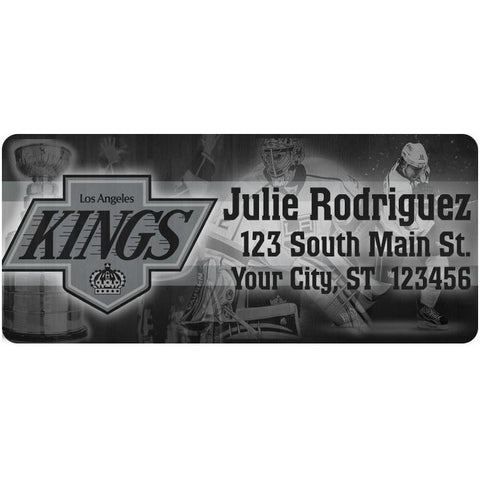 Los Angeles Kings LA Kings Hockey Stanley Cup Personalized Return Address Labels - The FinderThings