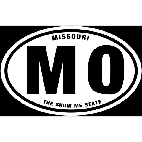 State of Missouri Sticker Decal - The Show Me State Bumper Sticker