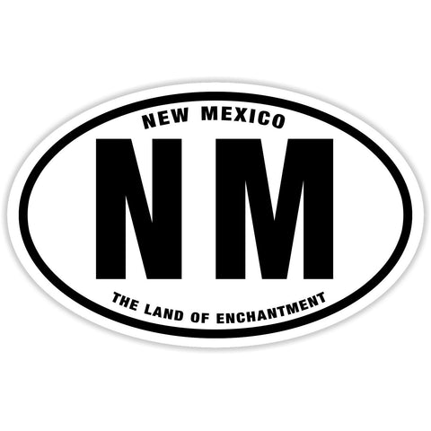 State of New Mexico Sticker Decal - The Land of Enchantment Bumper Sticker