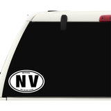 State of Nevada Sticker Decal - The Silver State Bumper Sticker - The FinderThings