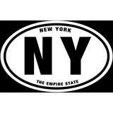 State of New York Sticker Decal - The Empire State Bumper Sticker - The FinderThings