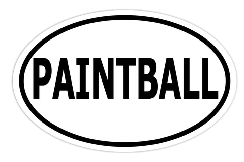 Paintball Sticker Decal - Paintball Sports Bumper Sticker - The FinderThings