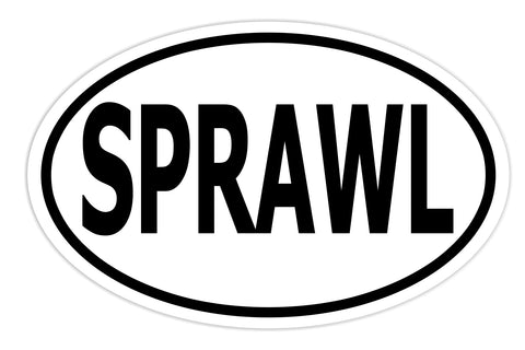 Sprawl Sticker Decal - MMA Fighter Mixed Martial Arts Bumper Sticker - The FinderThings