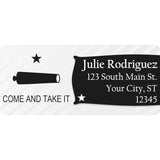 Come and Take It Flag Personalized Return Address Labels - The FinderThings