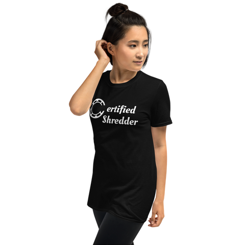 Certified Shredder Women's Mountain Bike T Shirt