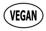 Vegan Sticker Decal - No Meat Vegan Bumper Sticker - The FinderThings