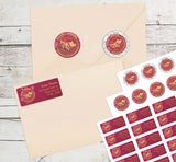Chinese New Year 2019 Personalized Return Address Labels Year of the Pig