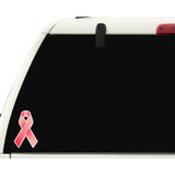 Aids Awareness Red Ribbon Car Bumper Sticker - The FinderThings