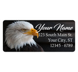 Bald Eagle Personalized Return Address Labels Bird Eagle USA American Eagle