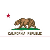 California State Flag Sticker Decal - The Golden State Bumper Sticker - The FinderThings
