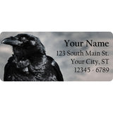 Raven Crow Personalized Return Address Labels Black Crow Raven