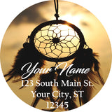 Dreamcatcher Personalized Return Address Labels Dream Catcher Native American Dreams - The FinderThings
