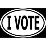 I Vote Sticker Decal - Political Voter 2020 Election Bumper Sticker - The FinderThings