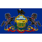 Pennsylvania State Flag Sticker Decal - The Keystone State Bumper Sticker