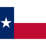 Texas State Flag Sticker Decal - The Lonestar State Bumper Sticker - The FinderThings