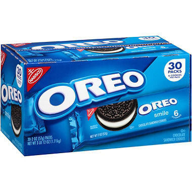 Oreo Snack Packs