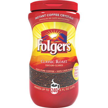 Folgers Regular Instant Coffee