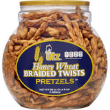 Honey Wheat Pretzels