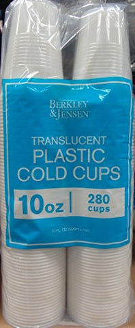 BJ's Brand Translucent Cups - 10 oz.