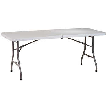 6ft Fold-in-half Table