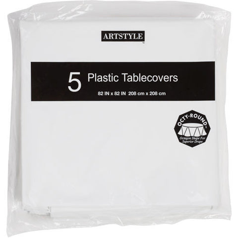 ArtStyle Plastic Table Covers
