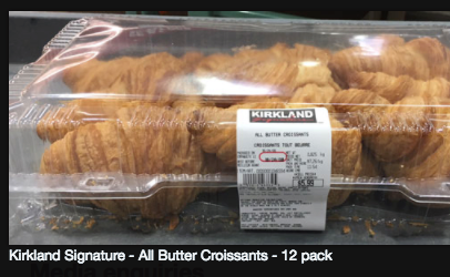 Kirkland All-Butter Croissants