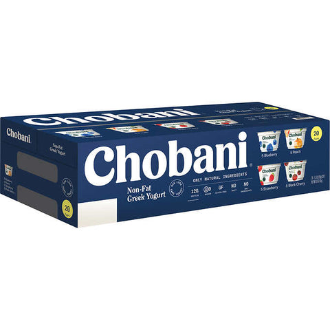 Chobani 0% Greek Style Yogurt(assortment)