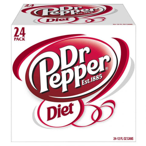 Diet Dr. Pepper Cans