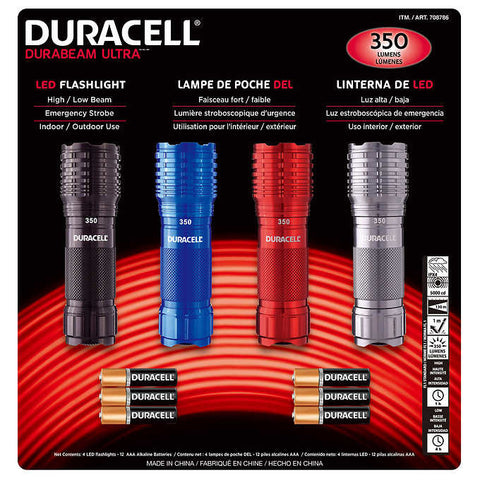 Duracell LED Flashlights
