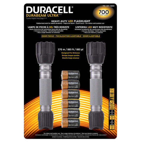 Duracel LED Flashlights