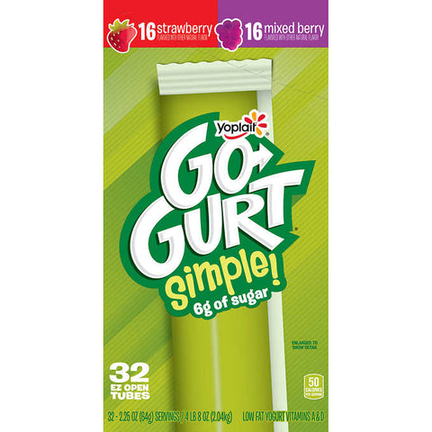 Yoplait Go-Gurt Simple