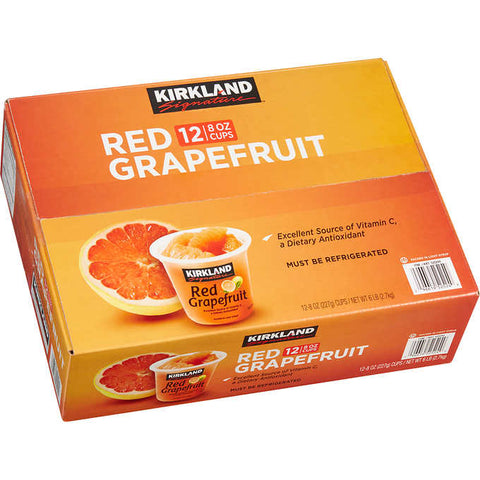 Kirkland Signature Red Grapefruit Cups
