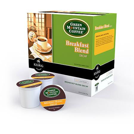 Green Mountain Blend Decaf K-Cups