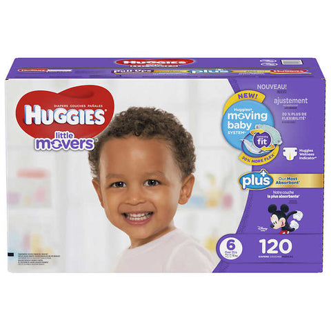 Huggies Little Movers Size 6
