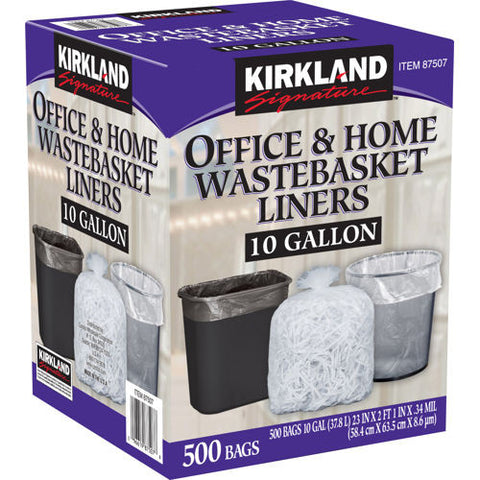 Kirkland 10 Gallon WasteLiners