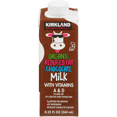Kirkland Organic Chocolate Milk