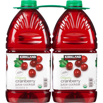 Kirkland Organic Cranberry Juice Cocktail