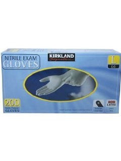 Kirkland Nitrile Exam Gloves (Large)