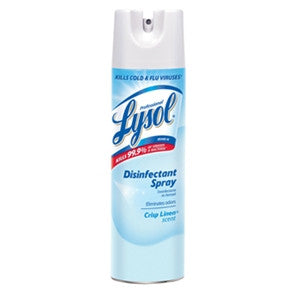 Lysol Crisp Linen Disinfecting Spray