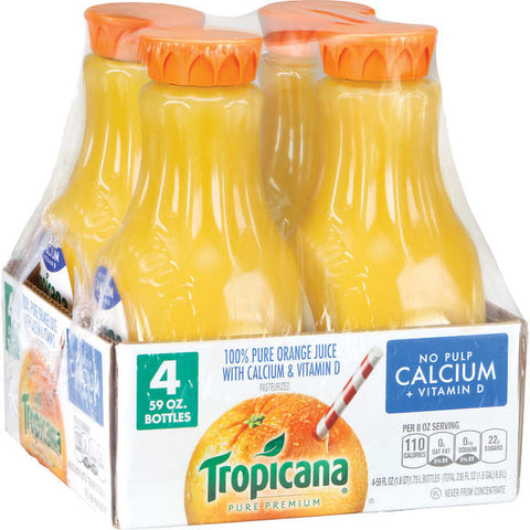 Tropicana Pure Premium Juice, Orange with Calcium and Vitamin D