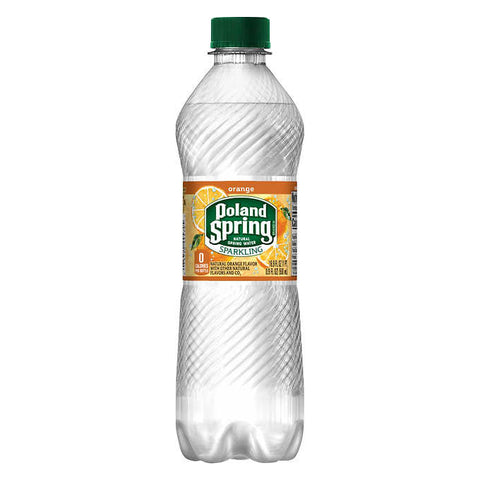 Poland Spring Sparkling Orange