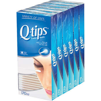 Q-tip Cotton Swabs