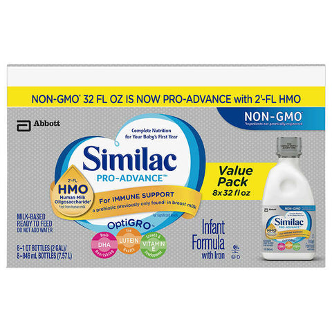 Similac Pro Advance Ready-To-Feed Infant Formula
