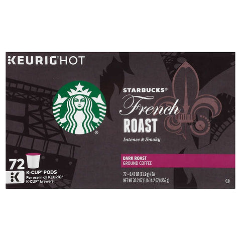 Starbucks French Roast Dark Roast K-Cups