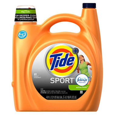 Tide Sport with Febreeze