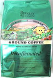 BJ's Brand Decaffeinated Ground Coffee (1/2 Batch, 1/2 Medium Roast)