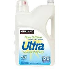 Kirkland Free and Clear Laundry Detergent