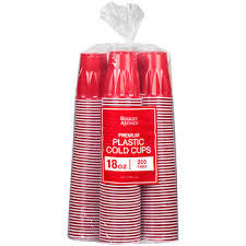 BJ's Brand Red Cups - 18 oz.