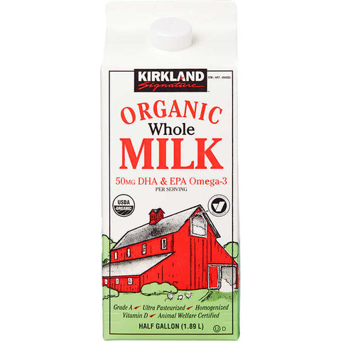 Kirkland Signature Organic Whole Milk